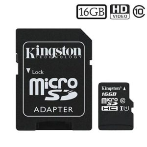 KINGSTON Canvas Select microSD 16GB