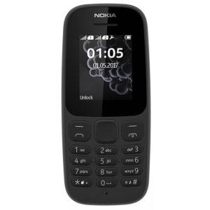 Nokia 105 (2017) Double Sim Noir