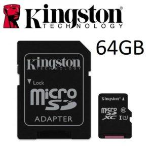 KINGSTON Canvas Select microSD 64GB