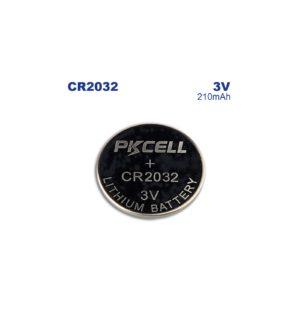 PKCELL Piles Lithium CR2032 (x5)