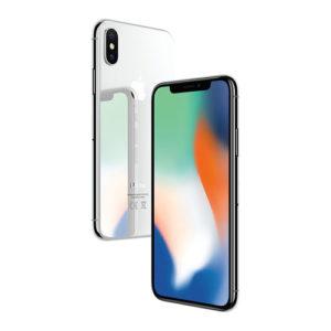 iPhone X Argent 64go